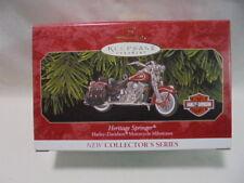 1999 Hallmark Keepsake Ornament Heritage Springer Harley-Davidson Motorcycles #1