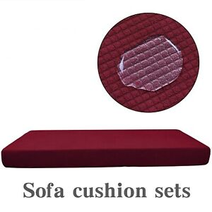 Stretchy Sofa Seat Cover Couch Cushion Protector Slipcovers Universal Covers