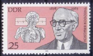 DDR 1978 MNH, Theodor Brugsch, Internal medicine, Politician