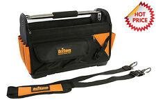 TRITON Werkzeugtasche Profi Gerätetasche mit hartem Boden und Alu-Tragegriff