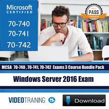 Windows Server 2016 MCSA Exam 70-740 70-741 70-742Video Training Course DOWNLOAD