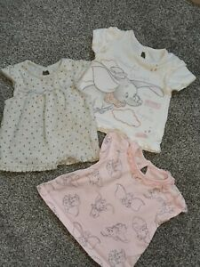 GEORGE Baby Girls 2 Pack Blue//Yellow SHORTS Spots//Unicorns Age 18-24 Months BNWT