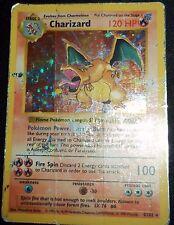 Shadowless Holográficos Foil Charizard #4/102 Base Set Pokemon