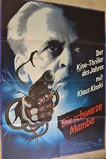 IL NERO MAMBA - LOCANDINA FILM A1 - KLAUS KINSKI - STERLING HAYDEN - AF626