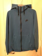 Nike Tech Fleece AW77 Hoodie Light Blue [559592 435] Size Medium
