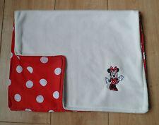 Minnie mouse personnalisé bébé couverture Landau Siège Auto Couffin polaire