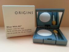 ORIGINS WEAR WITH ALL EYESHADOW - CLASSIC COLOR FOR EYES - 02 TOAST FREE UK P&P