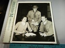 Rare Original VTG Period Actor James Engler Neva Patterson Huff Studio Photo