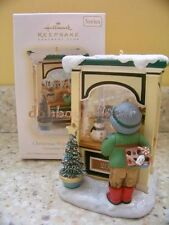 Hallmark 2009 Christmas Window Club Excl Candy Shop Series Ornament