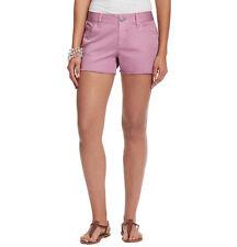Ann Taylor Loft Soft Denim Belt Loop Cutoff Shorts Lilac Size 8 NWT