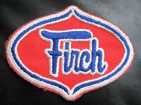 "FIRCH EMBROIDERED SEW ON PATCH COMPANY ADVERTISING INDUSTRIAL GAS 4"" x 3"""