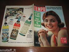RIVISTA TEMPO 1956/44=SYLVA KOSCINA=LA CINA=ANNA MARIA ALBERGHETTI=GARY COOPER