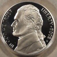 2002-S Jefferson Nickel 5c PCGS Certified PR 69DCAM