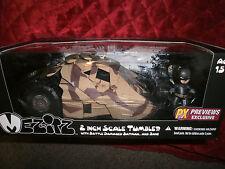 "DC COMICS THE DARK KNIGHT RISES 2"" SCALE TUMBLER BATTLED DAMAGED BATMAN & BANE"