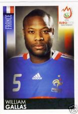 Panini Sticker EURO 2008 Nr. 340 William Gallas, France