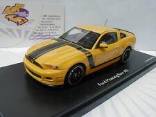 "Prix imbattable 08833 # schuco pro. r Ford Mustang 302 ""jaune-noir"" 1:43 prix imbattable"