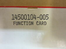 HONEYWELL CX5 FUNCTION CARD  14500104-005