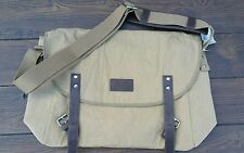 American Eagle -  Buckled Canvas Messenger Shoulder Bag