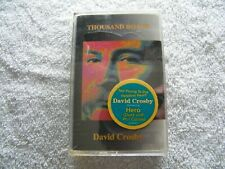 DAVID CROSBY - Thousand Roads - CASSETTE Sealed NEW - 1993 Rock THE BYRDS