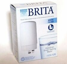 Brita Filtration System White Faucet Water Filter Fr-200 Replacement New in Box