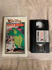 Vintage Walt Disney Original Pete's Dragon 1st Edition Clamshell VHS Movie