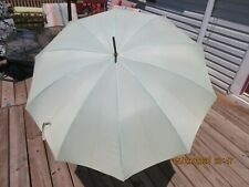Original Vintage Pk Manual Open Umbrella Very Lite Pale Green