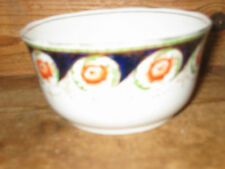 WELLINGTON CHINA OLD CERAMIC GOLD RIMMED SUGAR BOWL REPLACEMENT FLOWERS POTPLANT