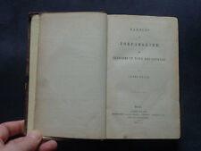 RAMBLES IN FORFARSHIRE: Sketches in Town & Country / Scotland / History / 1850
