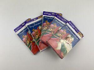 Lot Of 5 Merry Christmas Santa Holiday Party Invitations Hallmark