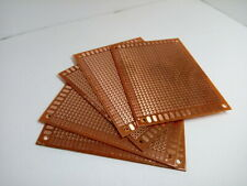 5x Pack Lot Blank Soldering Circuit Board Universal Breadboard Prototype 7x9cm
