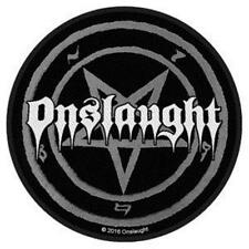 OFFICIAL LICENSED - ONSLAUGHT - LOGO SEW ON PATCH METAL THRASH