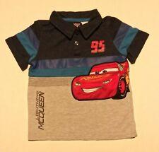 Cars Lightning McQueen Kids Polo Shirt Sz 2T