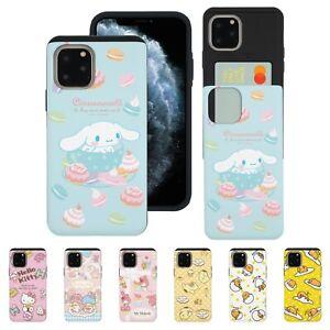 Sanrio Pattern Card Bumper Cover for iPhone 12 11 Pro XS Max mini XR 8 7 6S Case