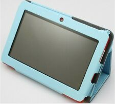 Tablet 7 pulgadas Quad core 1 GB de RAM 8 ROM FULL HD FUNDA AZUL