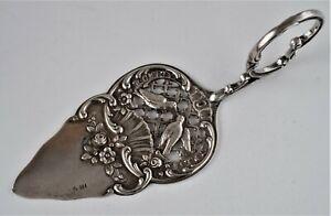 Tortenheber echt Silber 800 deutsche Handarbeit