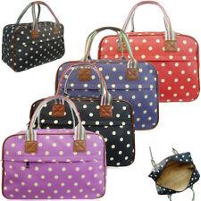 Ladies Womens Polka Dot Maternity Day Overnight Bag Travel Hand Luggage New UK