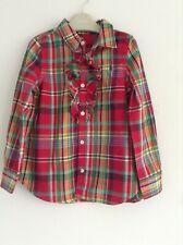 (C6) RALPH LAUREN GIRLS LOVELY CHECKY DESIGNER SHIRT DRESS AGE 5YRS