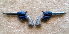 Vintage 1960s Ideal Captain Action 1/6 Scale LOT OF 2X REVOLVERS Weapons Arsenal