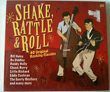 SHAKE RATTLE & ROLL - 40 TITRES ORIGINAL -  2CD NEUF