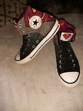 Superman DC Comics Converse All-Star High Top Sneakers Unisex uk 2  trainers