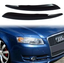 AUDI A4 B7, 2004-2007, Eyebrows ABS PLASTIC, spoiler, tuning