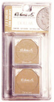 HE Harris Snaplocks 2x2 Safe Deluxe Coin Holders Large Dollar Brown Pack of 6