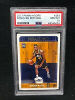 2017-18 Panini NBA Hoops Donovan Mitchell #263 RC Rookie GEM MINT PSA 10 V20