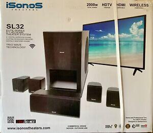 ISONOS HOME THEATER. SPEAKER SYSTEM SL32 Elite Series 5.1 HD (BRAND NEW!!)