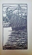 Cuban Art. Cabrera Hernandez, Luis Fernando. W/T. Linography. Original signed.