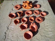 Indian Oil Lamp Clay Diya/Diva Candle Pot - Diwali Pooja Favours Gift Various