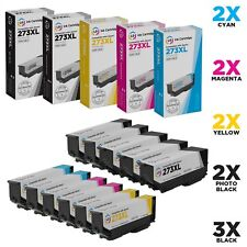 LD 11pk Reman Cartridge Set for Epson 273 XL 273XL T273XL 3B 2C 2M 2Y 2PB XP-600