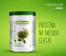 Nutrilite Protein Powder Vegetal Amway 450gr