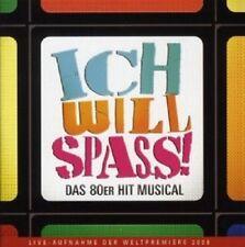 OST-ICH WILL SPASS!-DAS 80ER HIT MUSICAL  CD  23 TRACKS MUSICAL  NEU