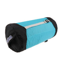Waterproof Compression Stuff Dry Sack Sleeping Bag Storage Pack M, Sky Blue
